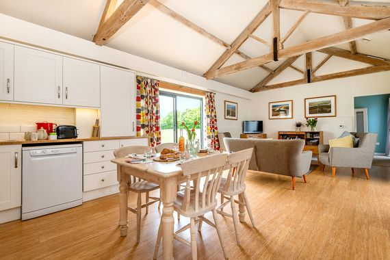 Tern cottage open-plan living space