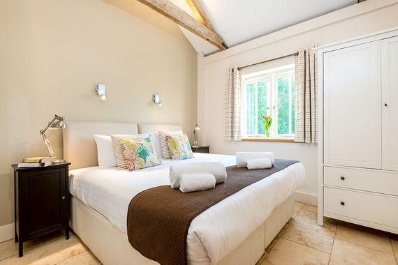 Avocet north facing bedroom