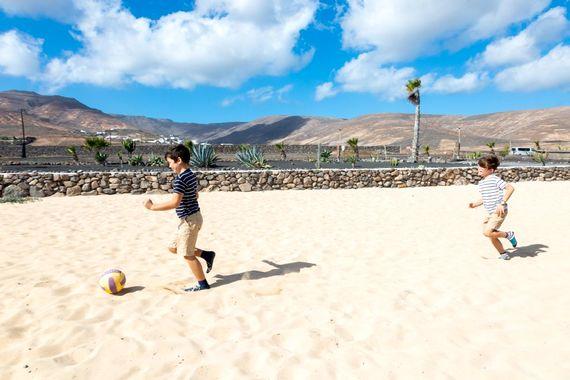 Football Pitch at Finca De Arrieta