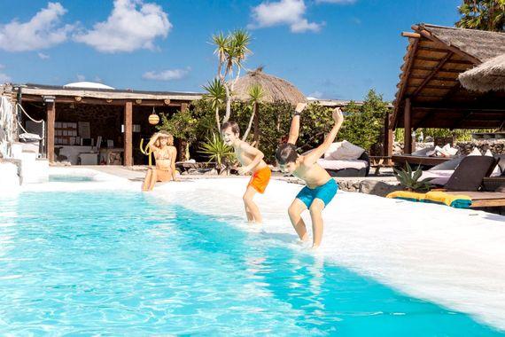 Pool Area at Finca De Arrieta