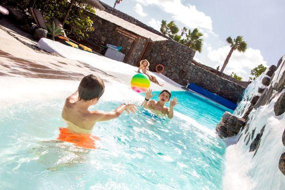 Solar Heated Pool at Finca De Arrieta