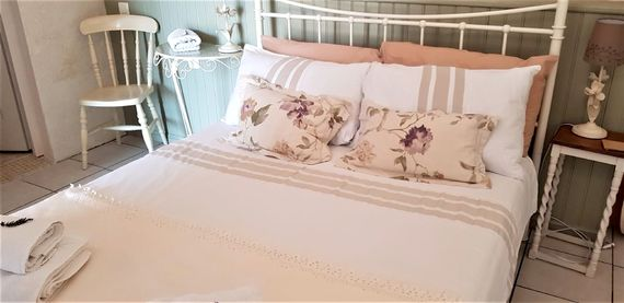 The Comfortable Large Double Bed