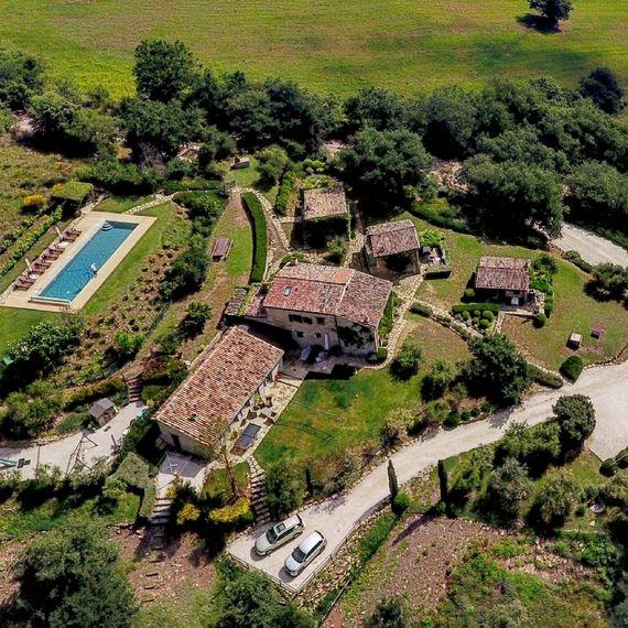 Aerial view of Casa San Gabriel