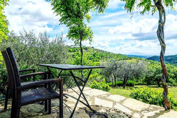 View from La Stalla terrace