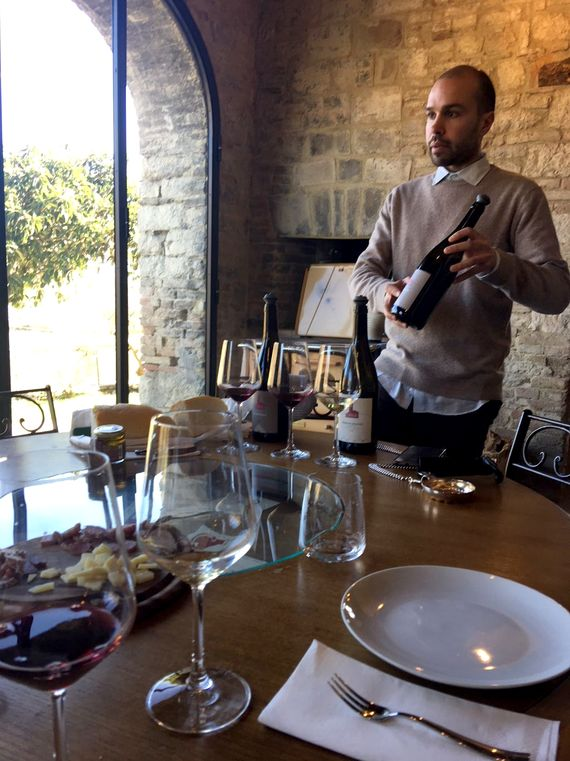 Award winning wine tasting 5 minutes away with certified bi-lingual sommelier