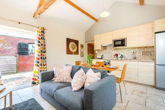 Coot Cottage Kitchen