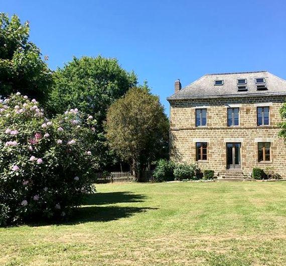 Montflori from the rear garden