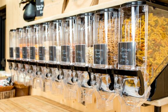 Including Zero Waste 'fill your own containers' shopping