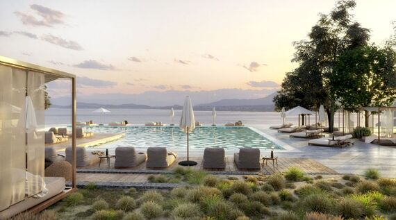Domes of Corfu -  Sapphire Sublime OP Suite with Pool Image 1