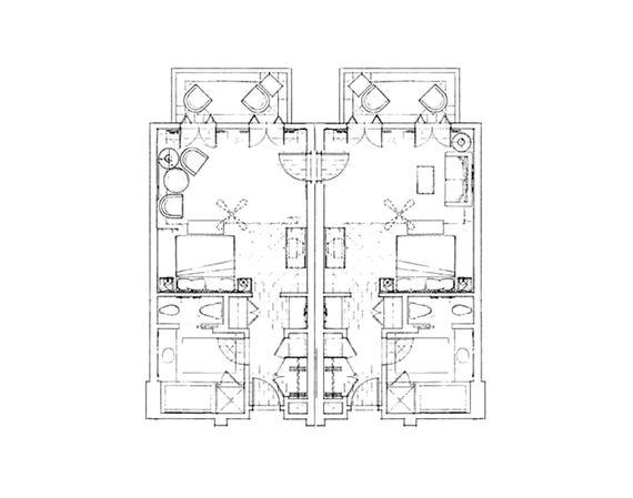 Anassa - Interconnecting Garden Studio Suites Image 12