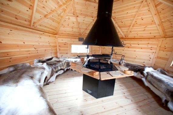 Apres Ski Arctic Lodge- perfect for a glass of Mulled Wine!