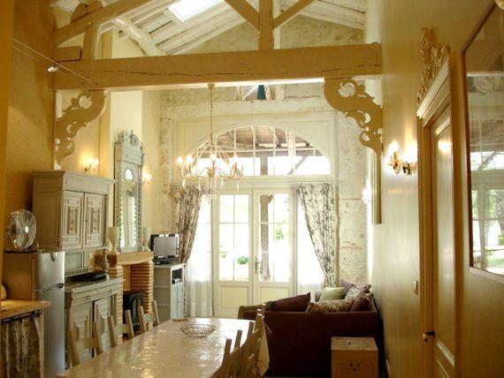 Lartigue suite open-plan lounge/kitchen/dining room
