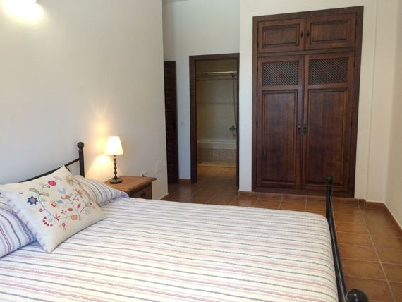 Master bedroom with sea viwes