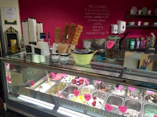 Black Isle Dairy Ice Cream onsite