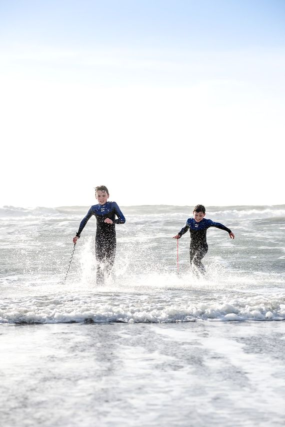 Close to some of the best surf beaches in the country