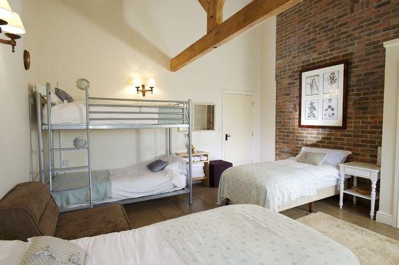 Family zip and link bedroom