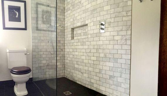 Luxury walk in shower room