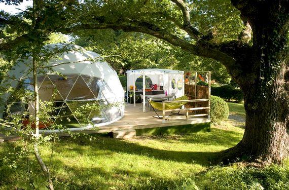 Geo Dome (private ensuite) - Col d'Ibardin Image 1