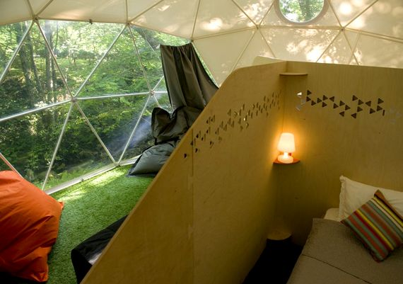 Geo Dome (private ensuite) - Col d'Ibardin Image 2