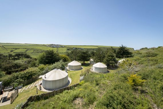 The Park Yurt village