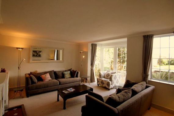 Main sitting room with comfortable seating