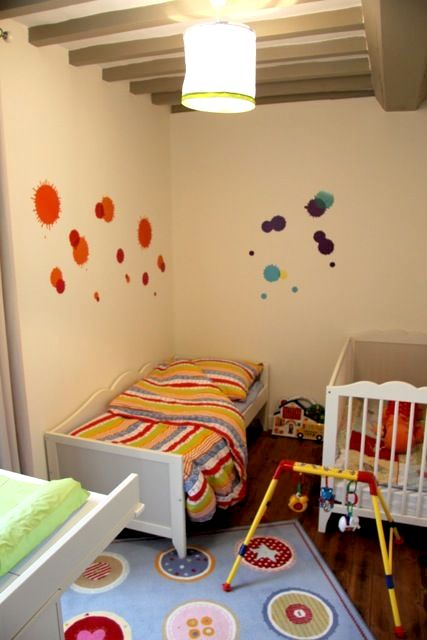 Nursery with cot and toddler bed