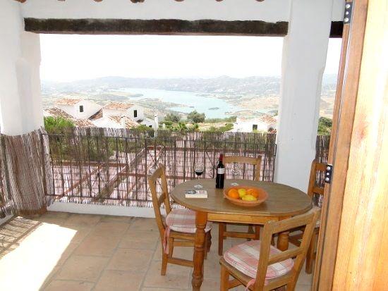 Terrace of apartment