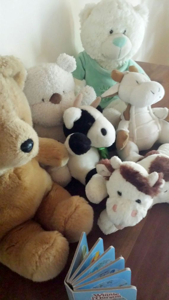 Cuddly toys....(washable)
