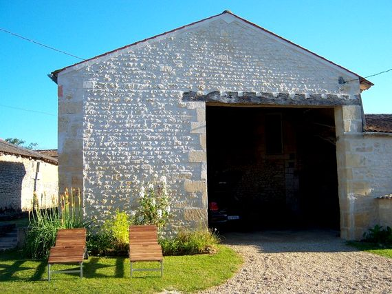 Top up your an in the sun or take shade in the open barn