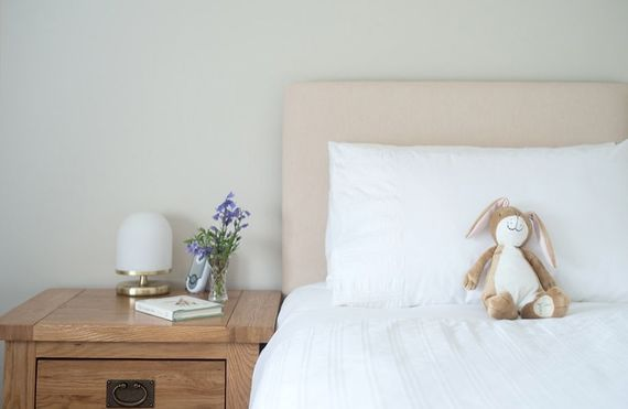 A snuggle bedroom for small children