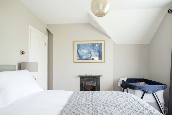Luxury second bedroom with kingsize bed