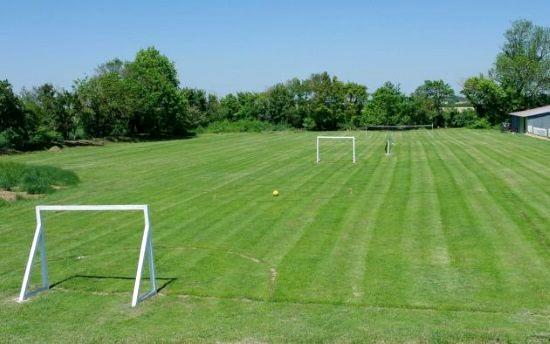 Games field (football, badminton, mini tennis, cricket & rounders)