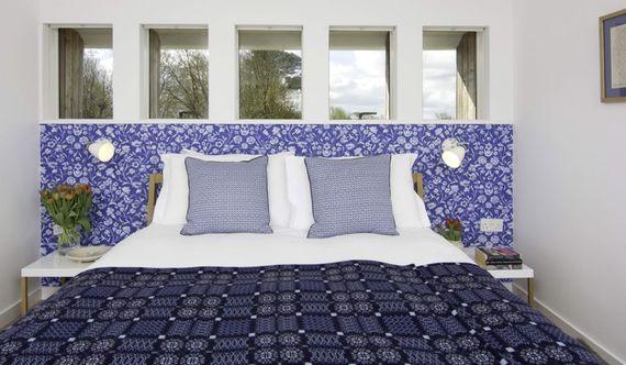 Kingsize double bedroom upstairs