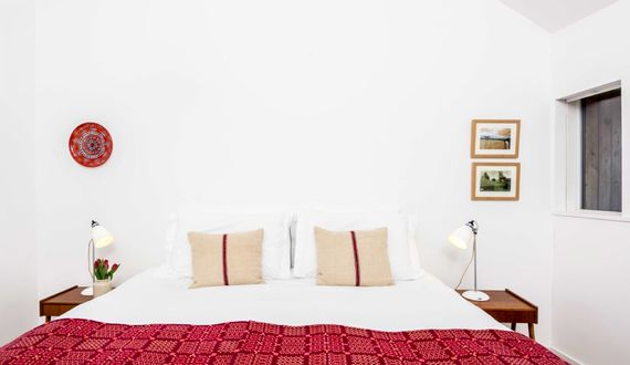 The 3rd bedroom can be arranged as a super kingsize or twin bed