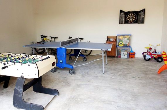 Games Room - fun for young and older alike