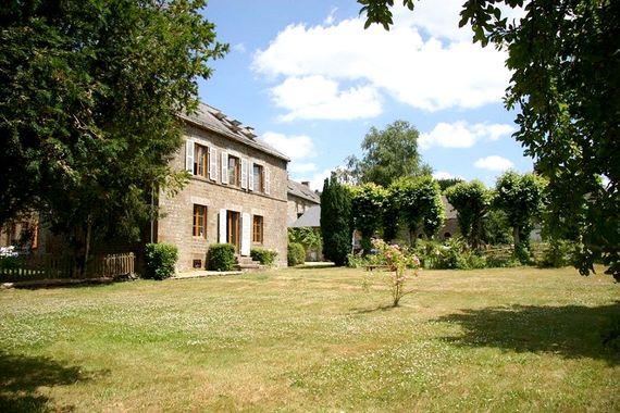 View of Montflori taken from main garden