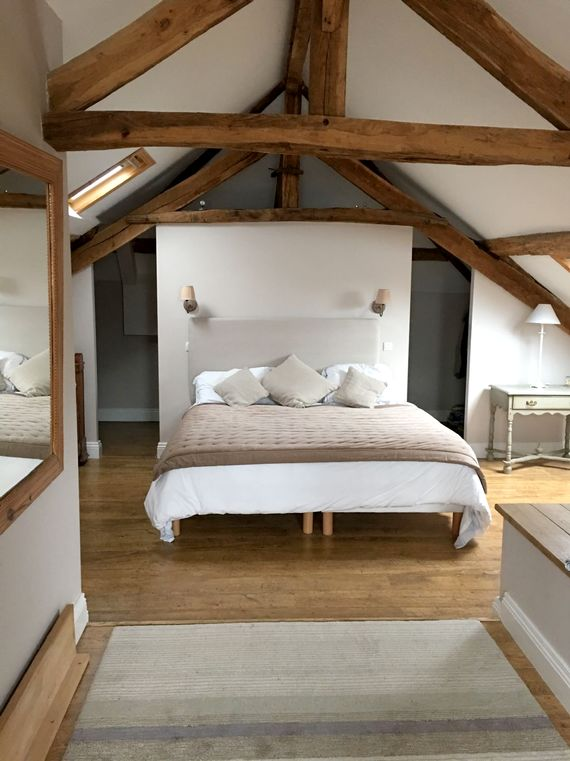Master suite - with emperor bed, sleigh corner bed, room for cot and trundle.
