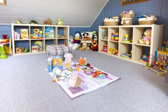 Play Room highlighting baby toys