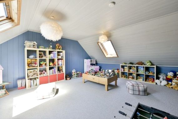 Play Room with treasure trove of toys