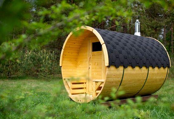 Sauna near Boathouse pond