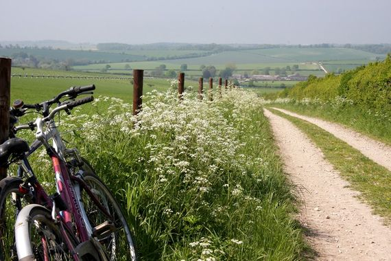 Bring your bikes and cycle across the AONB