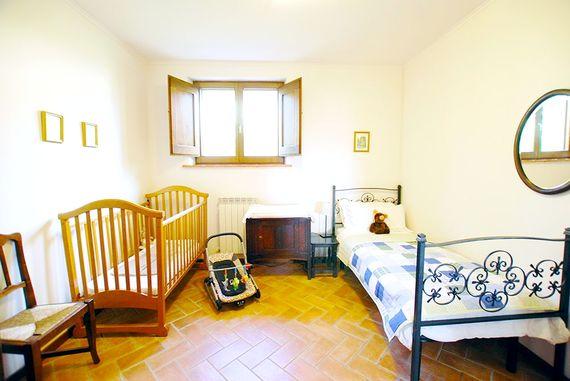 Children's room with en-suite