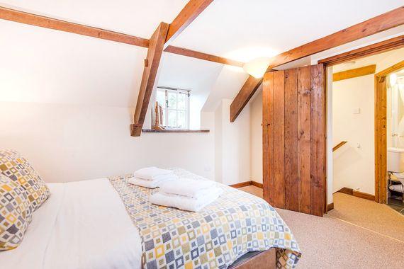 Lavender upstairs bedroom