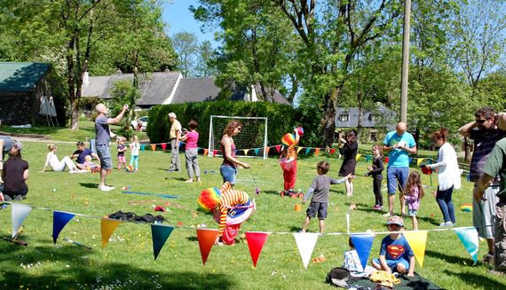 Circus skills workshop during the school holidays