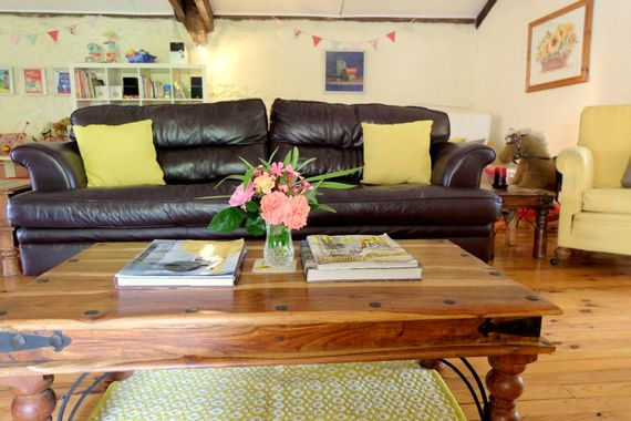 Upstairs, the lounge area has TV/DVD as well as a play area, dining area and pool table and table football.