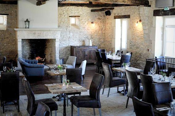 Our indoor restaurant