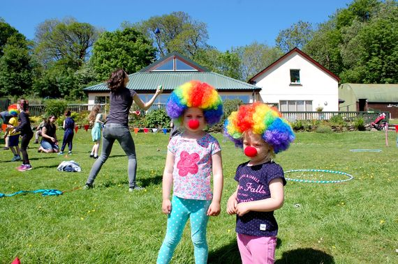 Circus skills during school holidays