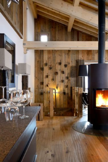 Chic alpine decor