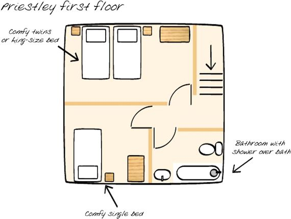 Floorplan upstairs