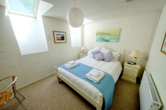 Heron double bedroom